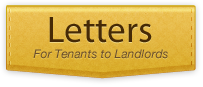 rental and home letters